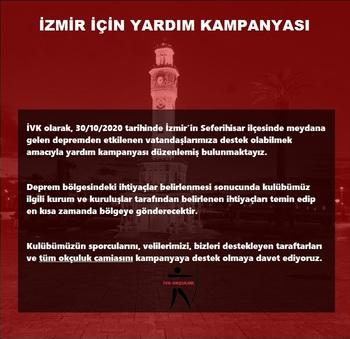 İzmir İçin Yardım Kampanyası